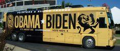 Political RV Wrap #biden #obama