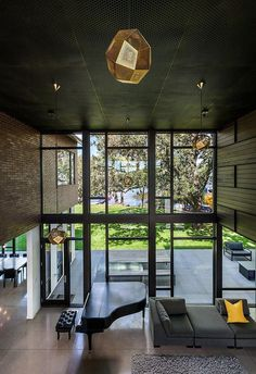 Industrial Modern House Designed to Promote the Outdoors and Active Lifestyle 5