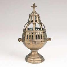 Early Baroque Brass Censer.