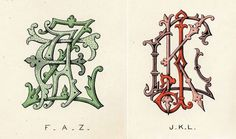 Type Thursday: Wilkinson, Heywood and Clark Ltd Monograms | Sub/Conscious Meanderings #monogram