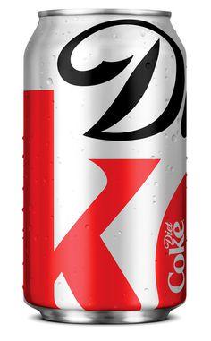 Diet Coke Packaging, by Turner Duckworth