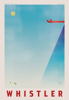 Expedia Travel Posters #skiing #screenprint #travel #poster #expedia