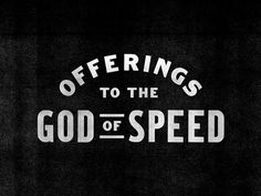 The Selected Works of Mathew Foster #of #the #speed #offerings #god #to