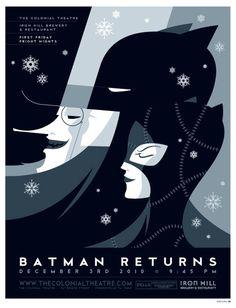 Art Deco Movie Posters #poster #print design #batman #movie