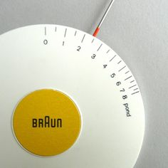 All sizes | Braun Tonarmwaage | Flickr - Photo Sharing! #modern #braun #mid #century