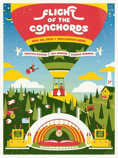 Flight of the Conchords (Hollywood Bowl) #mef #sillo