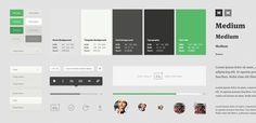 The making of Medium.com | Teehan+Lax #style #guideline #gudie