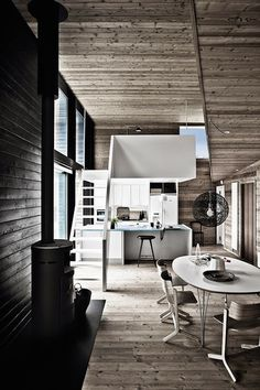 Grey Wooden Summer House in Denmark – Fubiz™