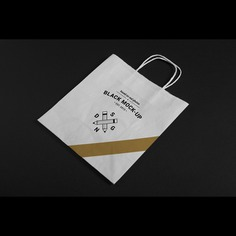 Paper bag mock up design Free Psd. See more inspiration related to Mockup, Design, Template, Paper, Web, Website, Bag, Mock up, Templates, Website template, Paper bag, Mockups, Up, Web template, Realistic, Real, Web templates, Mock ups, Mock and Ups on Freepik.