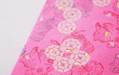 BLOW | CNY Pocket for Polytrade Paper #emboss #techniques #print #color #oriental