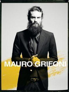 Sara Lindholm - mensfashionworld: Mauro Grifoni S / S 2012 ... #fashion #mauro #grifoni #mensweare