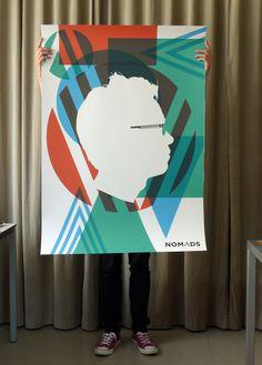 nomads visual identity on the Adweek Talent Gallery #design #illustration #branding #identity
