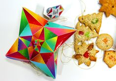 Festive packaging for Christmas cookies #packaging #creative #cookies