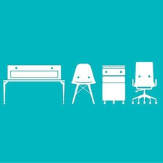 Icon Design #icon #icondesign #icon #furniture #minmal interrior #design #graphicdesign #chair #iconography