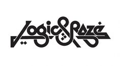 logic & raze | Flickr - Photo Sharing! #design #pettis #logicraze #logo #jeremy #typography