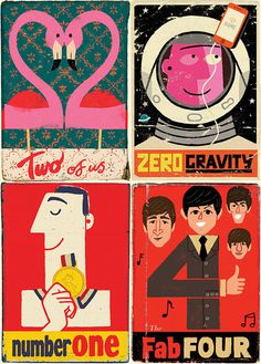Paul Thurlby Illustration / Home #posters
