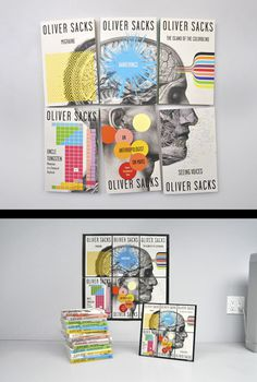 Oliver Sacks series by Cardon Webb #oliver #puzzle #book #publication #webb #cover #grid #illustration #sacks #cardon