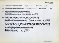 Kabel bold type specimen. #type #specimen #typography