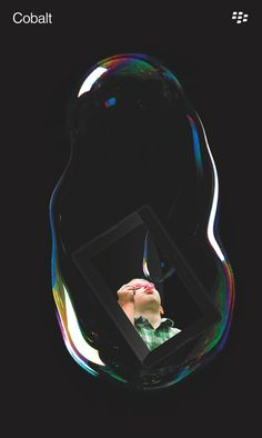 kylepoff 2 #bubbles #float #graphic #black