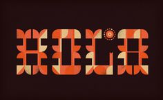 Brent Couchman Design #illustration #typography #hola #couchman