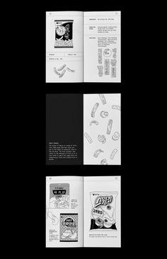 Archiving book of Korean seafood snacks