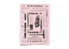 Michele Champagne #newsprint #multiple #newspaper #cover #layout