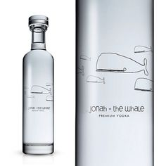 Jonah Whale Vodka : TACN Studio #canada #packaging #whale #alcohol #vancouver #clean #minimal #vodka #animal
