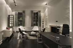 Gentlemen's Club Office by SHH | Daily Icon #layout #design #furniture #modern
