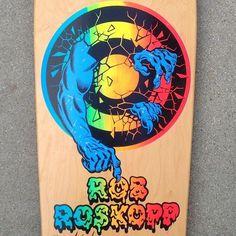 Santa Cruz Rob Roskopp @santacruzskateboards #hmcsk8 #deckoftheday