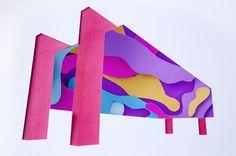 MASP #cuting #museum #illustration #colorful #paper