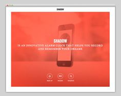 Shadow #website #layout #design #web