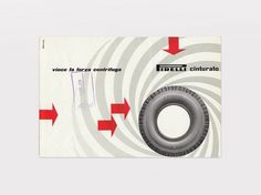 Display | Pirelli Vince La Forza Centrifuga Bob Noorda | Collection #pirelli