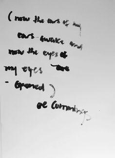 Jack Walsh #letters #white #ink #and #ee #poem #cummings #black #jack #poster #art #swords #hand #walsh
