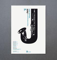 festival internacional de jazz de alicante | estudio ibán ramón | Proyectos de identidad corporativa, diseño editorial y comunicación gr