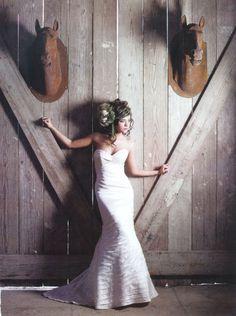 Vineyard Wedding Dress #bridal #portrait #wedding #girl