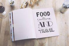 pazmartinezcapuz_bread magazine #font #magazine #handwriting #letterings #food #spread #typo #bread