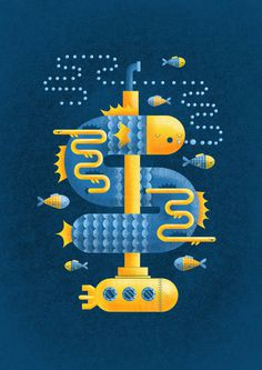 deep sea1 #illustration