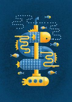 deep sea1 #illustration