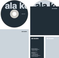 Ala Kondre Proud Creative #business #mockup #card #print #letterhead #cd
