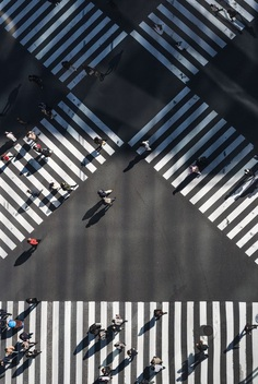 Crossing photo by Ryoji Iwata (@ryoji__iwata) on Unsplash