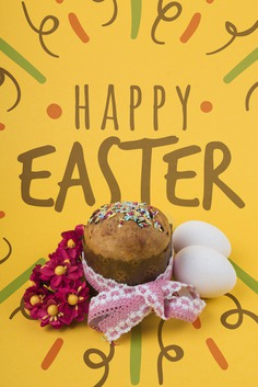 Happy easter day Free Psd. See more inspiration related to Flower, Mockup, Floral, Typography, Spring, Leaves, Celebration, Happy, Font, Bow, Holiday, Cupcake, Mock up, Easter, Plant, Drawing, Religion, Egg, Painting, Lettering, Traditional, Test, Up, Happy easter, Day, Eggs, Muffin, Cultural, Tradition, Composition, Mock, Sprinkle, Seasonal and Paschal on Freepik.