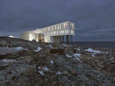 Fogo Island Inn #hotel #architecture #inn