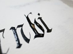 Just For Fun by Joan Quirós #calligraphy #wet #fraktur #gothic #blackletter