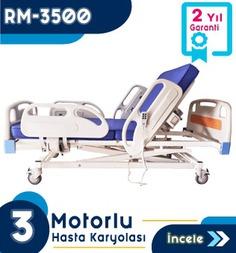 3 Motorlu Full Abs Hasta Karyolası