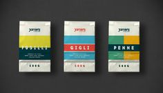 pasta, line, red, yellow, teal, old, vintage, design, package