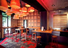 Baobao Asian Restaurant Decor - #restaurant, #decor, #interior,