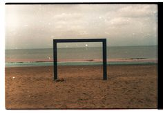 Analogue Knokke #ocean #old #analogue #geometry #color #photography #beach #coast