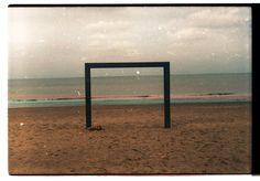 Analogue Knokke #ocean #old #analogue #geometry #color #photography #beach #coast