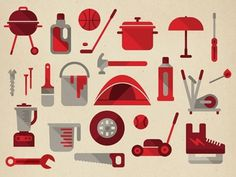 Dribbble - Various store goods by Studio Muti
