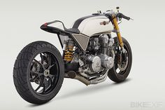 Honda CB cafe racer #vintage #motorcycles #caferacer #classified moto